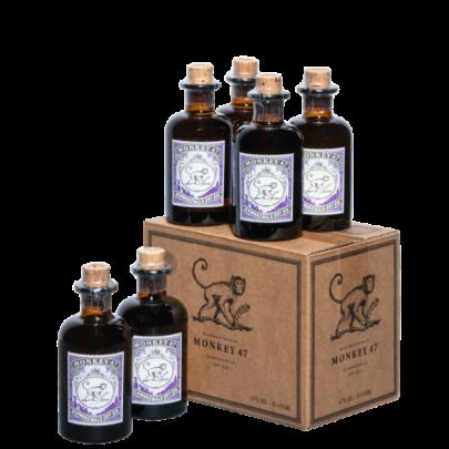 Monkey 47 Schwarzwald Dry Gin Kleinflaschen