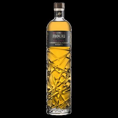 Grappa Riserva  Nebbiolo da Barolo Barrique  Luigi Francoli Destilleria a Vapore