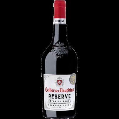 Côtes du Rhône AOC  Réserve Grenache Syrah  Cellier des Dauphins