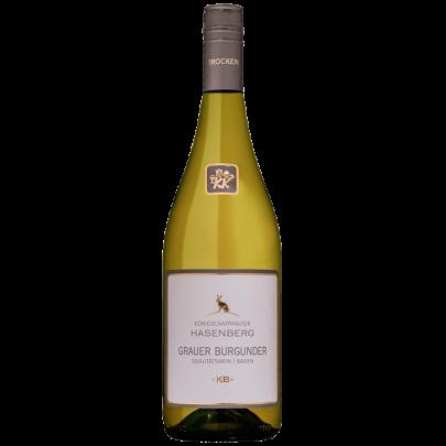 Grauer Burgunder Hasenberg  Qualitätswein Baden Winzergenossenschaft Königschaffhausen Kiechlinsbergen