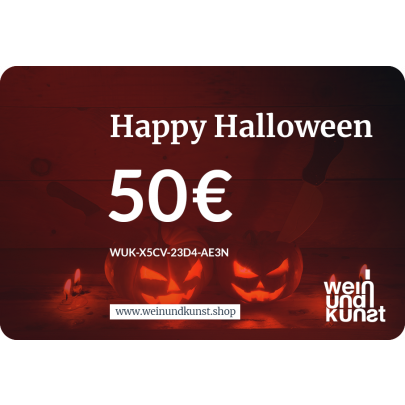 Digitale Geschenkkarte Happy Halloween