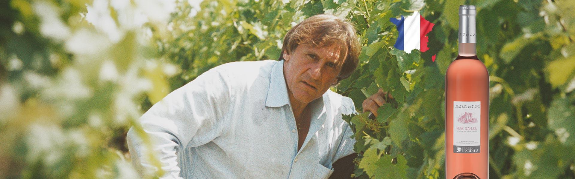 Gérard Depardieu Château de Tigné