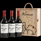 Vivanco Crianza DOCa Rioja  in 3er Holzkiste