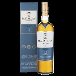 The Macallan Fine Oak 12 Jahre  Highland Single Malt Scotch Whisky