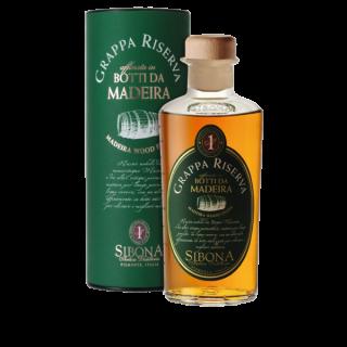Grappa Riserva  Botti da Madeira  Distilleria Sibona