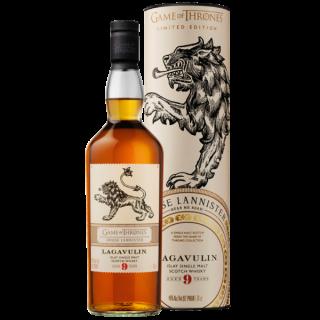 Game of Thrones  House Lannister Lagavulin 9 Jahre Islay Single Malt Scotch Whisky
