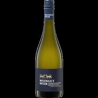Sauvignon Blanc Gimmeldinger Meerspinne  QbA Pfalz Weingut Weik