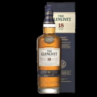 The Glenlivet 18 Jahre Speyside Single Malt Scotch Whisky